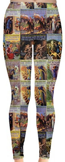 Nancy Drew Vintage Tandy Book Cover Leggings