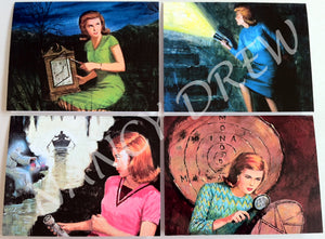 Nancy Drew 1960s Illustration Note Cards