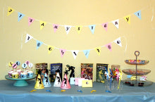 Load image into Gallery viewer, Nancy Drew Silhouettes Printable Mystery Party Kit