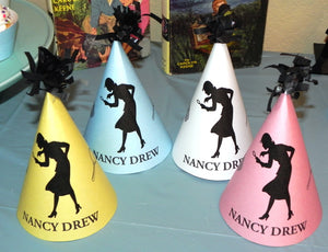 Nancy Drew Silhouettes Printable Mystery Party Kit