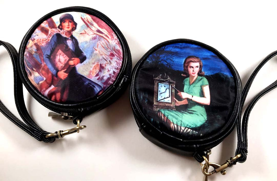 Nancy Drew Old Clock Round Case