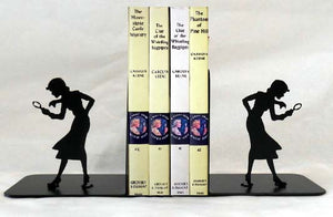 Nancy Drew Silhouette Bookends