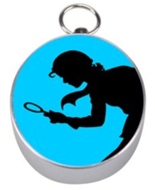 Nancy Drew Silhouette Compass