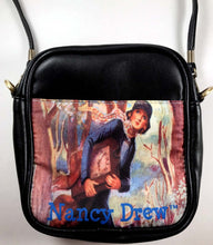 Load image into Gallery viewer, Nancy Drew Tandy Old Clock Sling Bag
