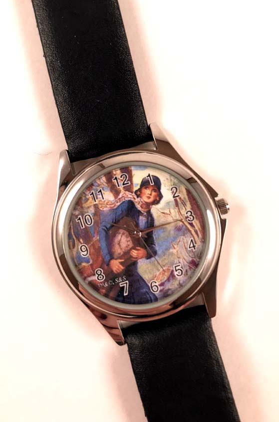 Old Clock Nancy Drew Watch