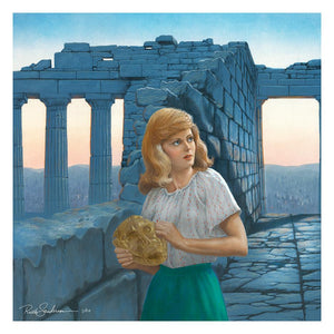 THE GREEK SYMBOL MYSTERY - A Ruth Sanderson Limited Edition Print