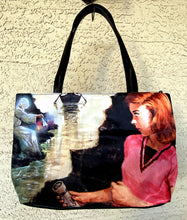 Load image into Gallery viewer, Nancy Drew Sleuth Handbag - Attic & Tolling Bell