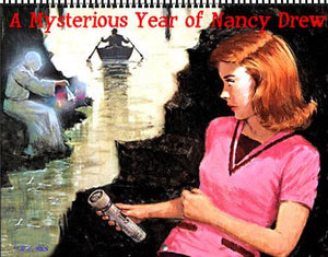 2021 Nancy Drew Classic Nappi Illustrations Calendar