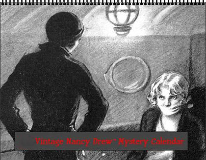 2020 Nancy Drew Tandy Illustrations & Book Scenes Calendar