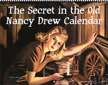Load image into Gallery viewer, 2021 Nancy Drew Tandy Book Cover Illustrations Calendar