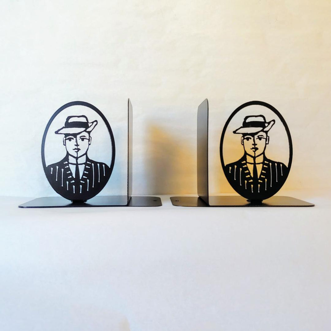 Tom Swift Silhouette Bookends