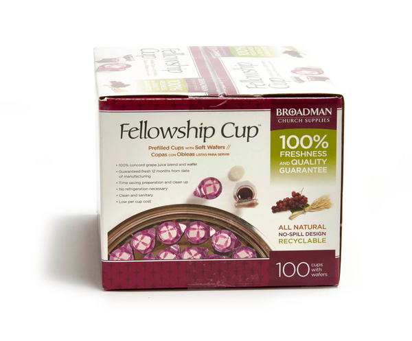 Fellowship Cups w/ Wafer (100 Cups)