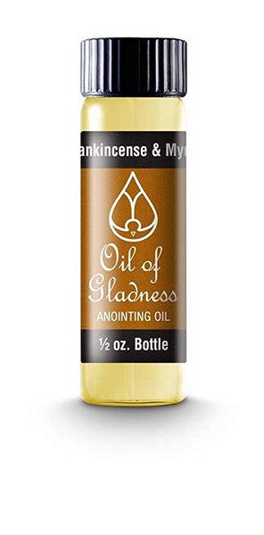 Oil of Gladness Frankincense & Myrrh Anointing Oil 1/2 oz