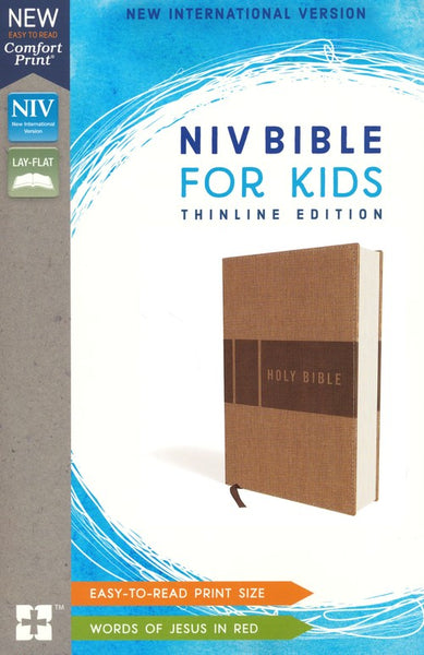NIV Bible for Kids, Imitation Leather, Tan  ZONDERKIDZ / IMITATION LEATHER
