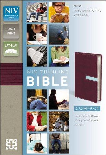 Holy Bible: New International Version Thinline Compact Razzleberry