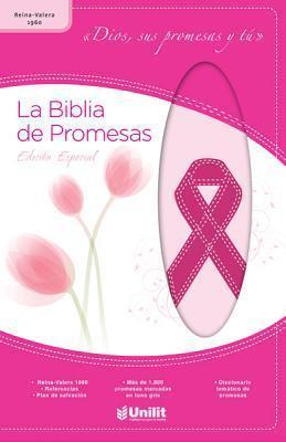 Biblia de Prom Piel Rosa ACA-Cncer: Promise Bible Leather Pink ACA-Cancer (Spanish Edition) (