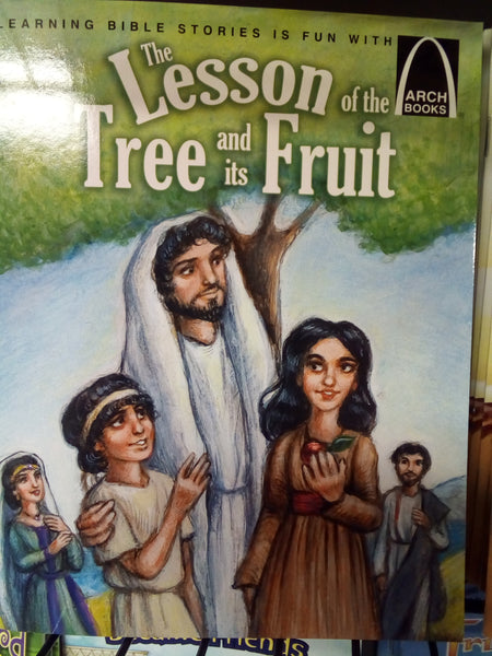The lesson of the tree and it's fruit