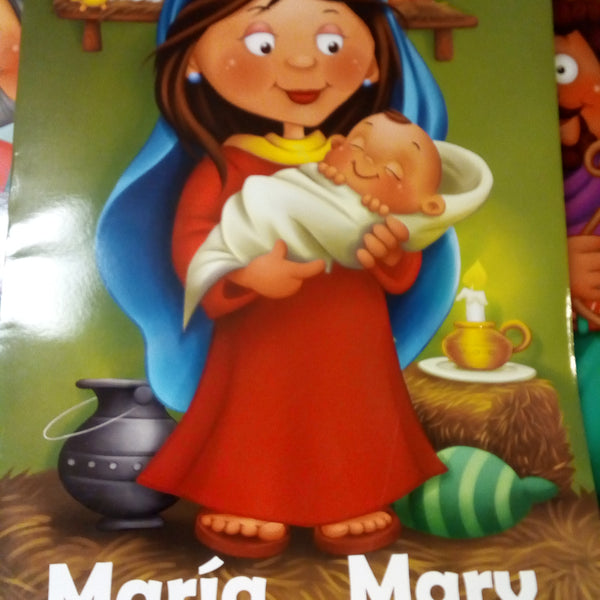 Maria Mary coloring book