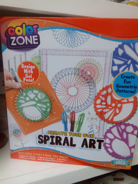 Create your own Spiral Art