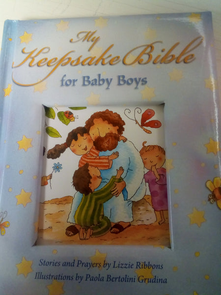 The keepsake Bible for Baby Boys