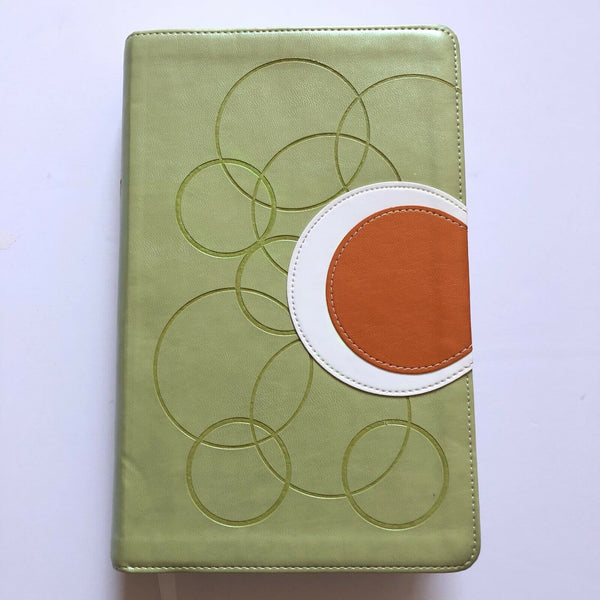 NIV, Teen Study Bible, Leathersoft, Green Imitation Leather