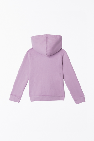 Zip-Up Hooded Jacket - Lilac
