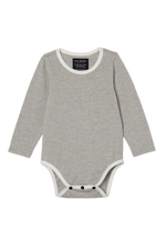 Long Sleeve Onesie - Grey