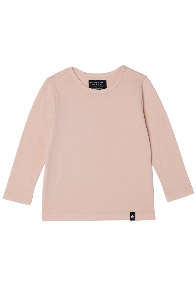 Long Sleeve Tee - Just Pink
