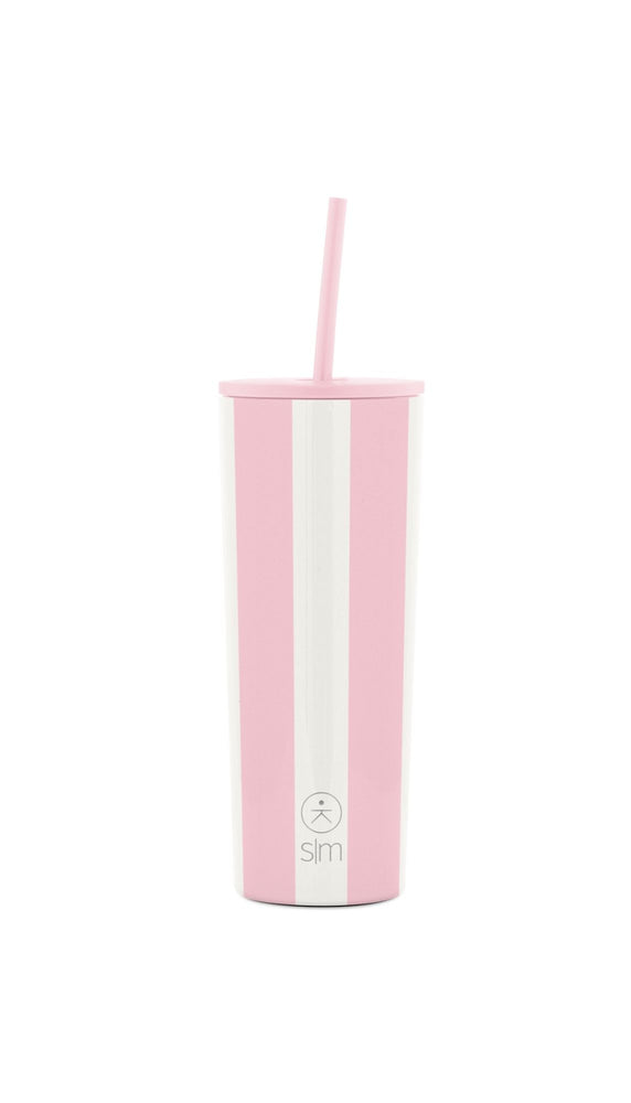 Classic Tumbler - Just Pink Candy Stripes