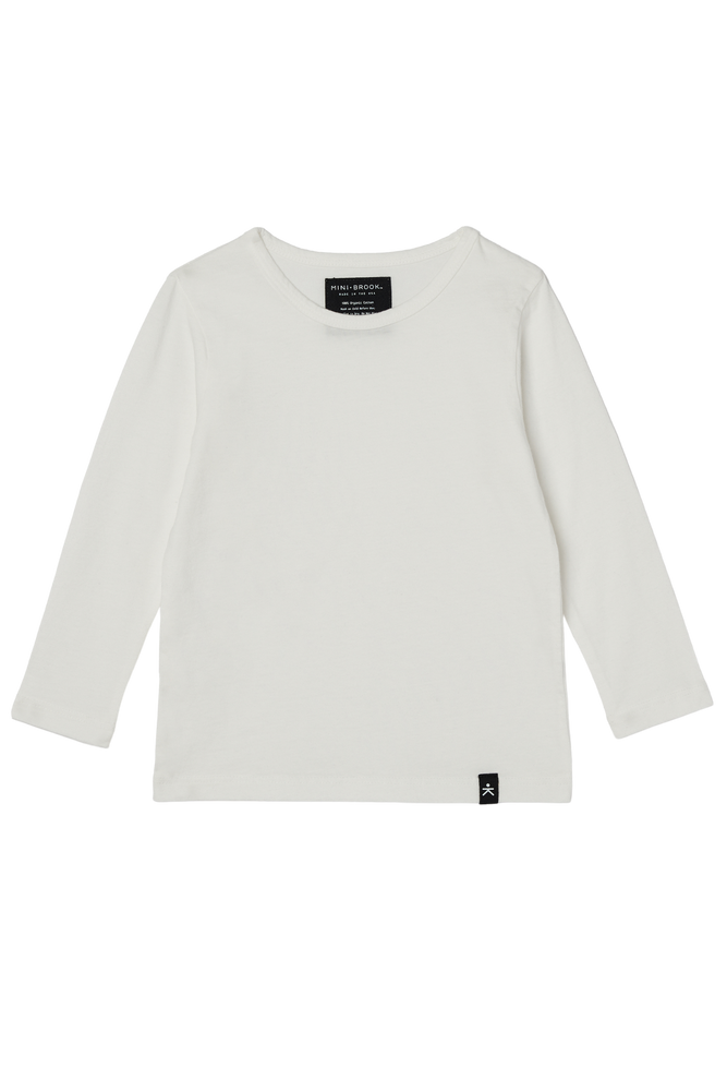 Load image into Gallery viewer, Long Sleeve Tee - Cream