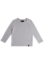 Long Sleeve Tee - Heather Grey
