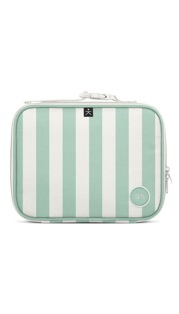 Hadley Lunch Bag - Ocean Candy Stripes