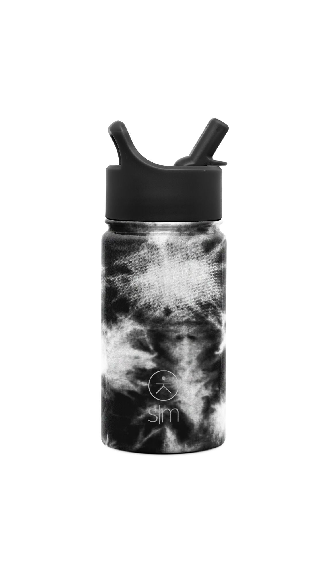 Summit Kids Water Bottle - Black Tie Dye