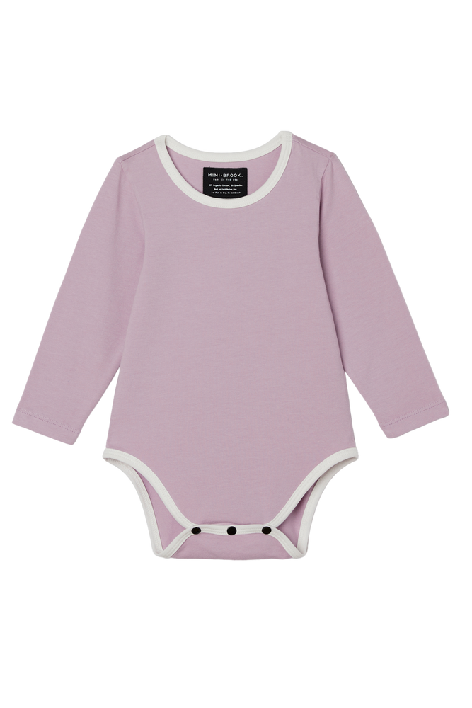 Long Sleeve Onesie - Lilac