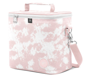 Blakely Lunch Bag - Pink Tie Dye