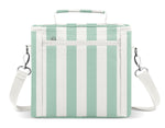 Blakely Lunch Bag - Ocean Candy Stripes