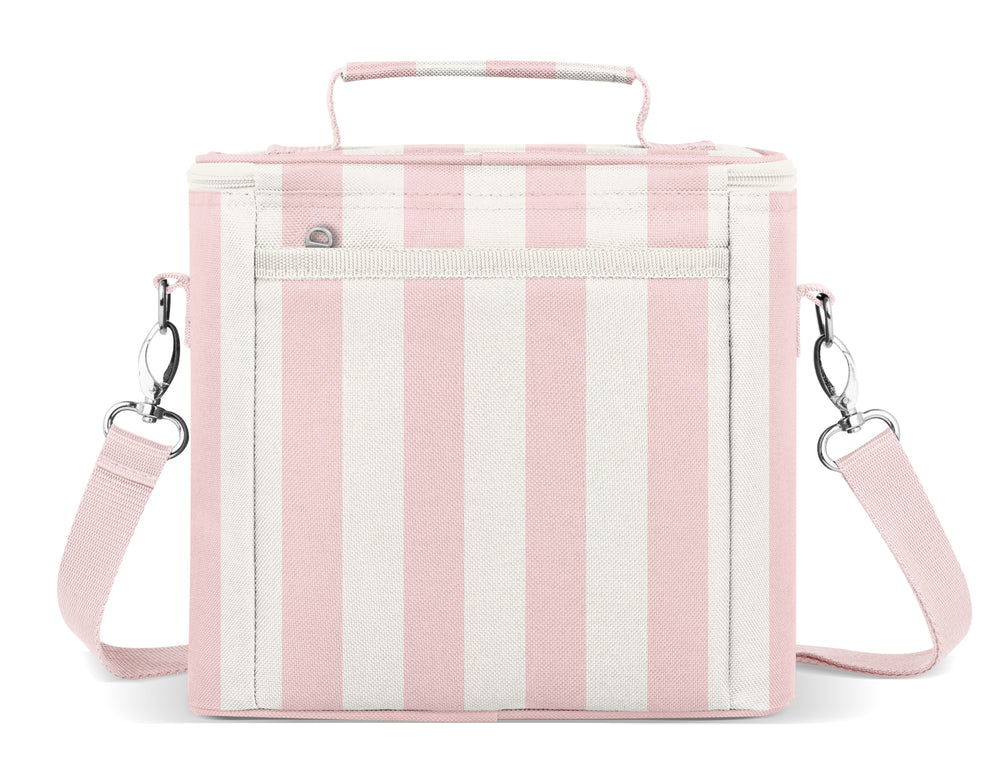 Blakely Lunch Bag - Just Pink Candy Stripes