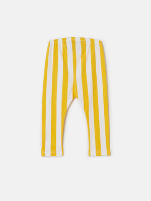 Cozy Pant - Marigold Candy Stripes