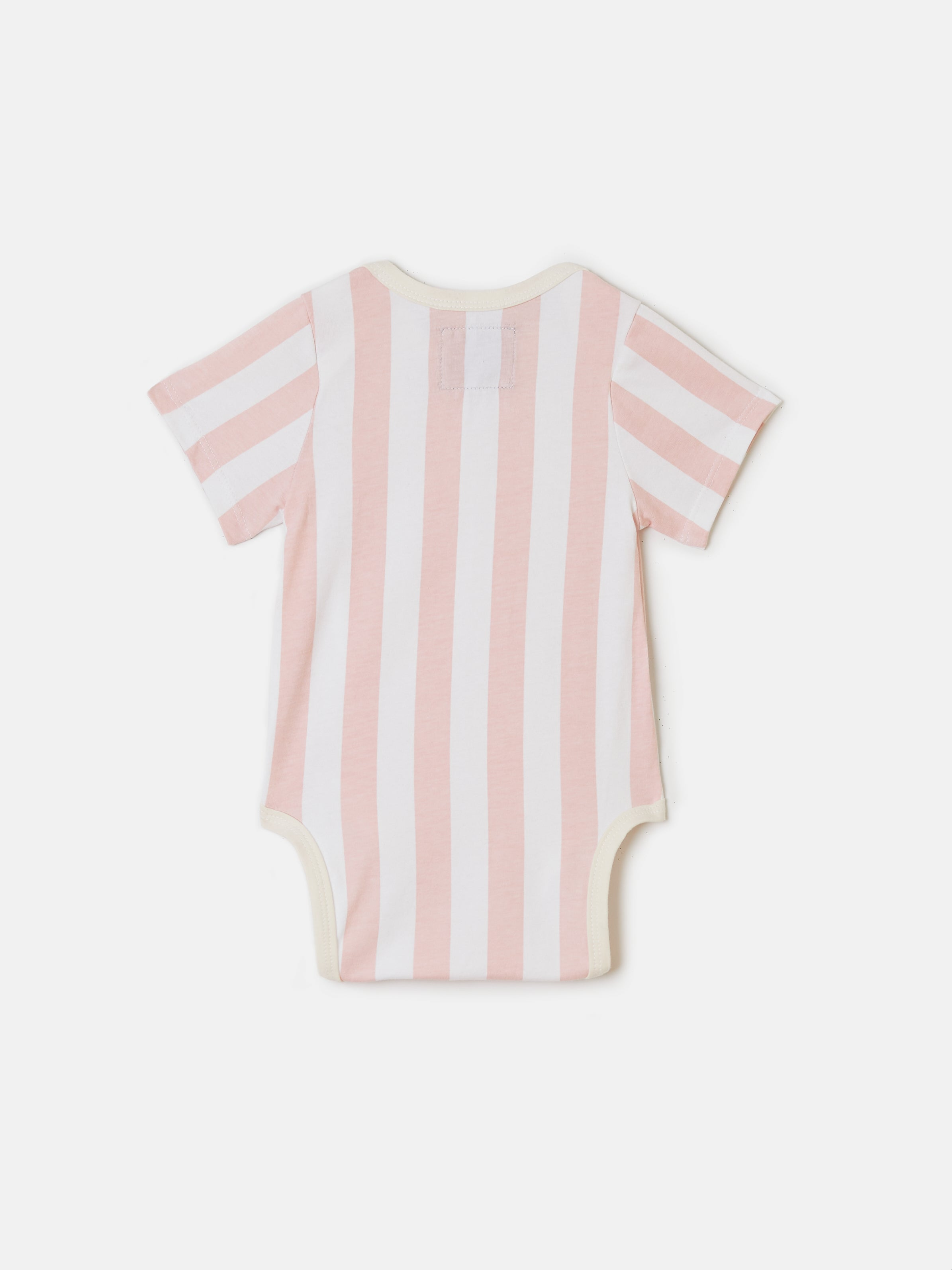 Onesie - Pink Candy Stripes