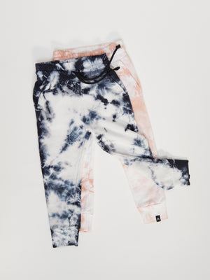 Load image into Gallery viewer, Joggers - Just Pink Tie Dye