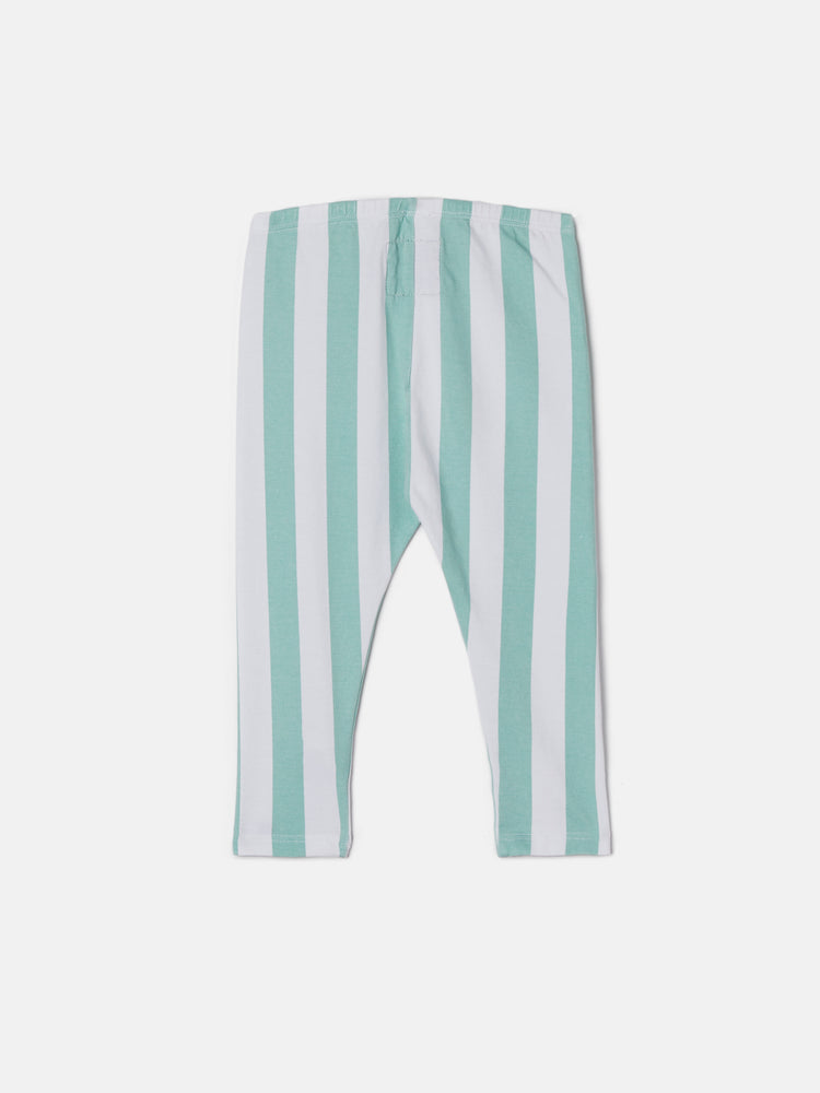 Cozy Pants - Ocean Candy Stripes