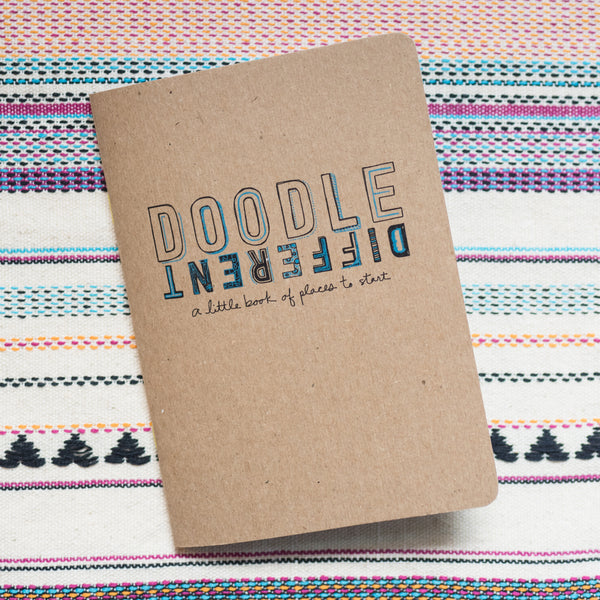 Doodle Different: A Little Book Of Places To Start
