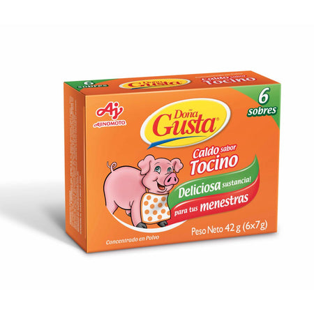 1 pack Doña gusta tocino - 20 unid - 7 grs