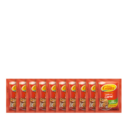 1 pack Doña gusta carne - 20 unid - 7 grs