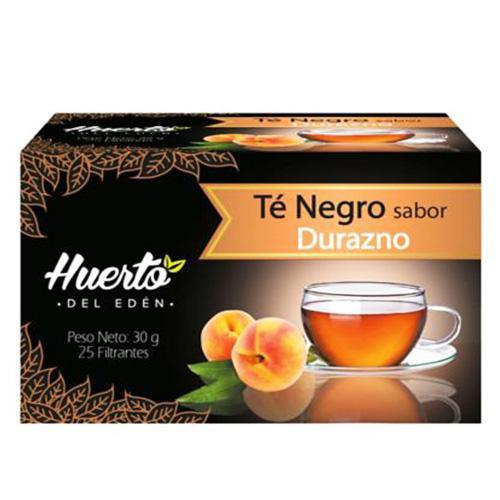Huerto eden black tea peach
