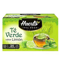 huerto eden green tea lemon