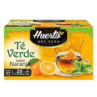 Huerto eden green tea orange