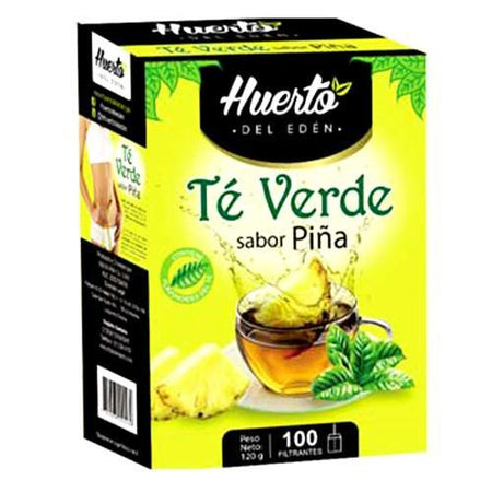 Huerto eden green tea pineapple 4