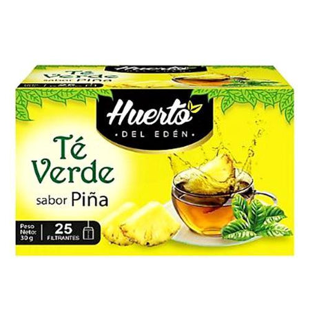 Huerto eden green tea pineapple