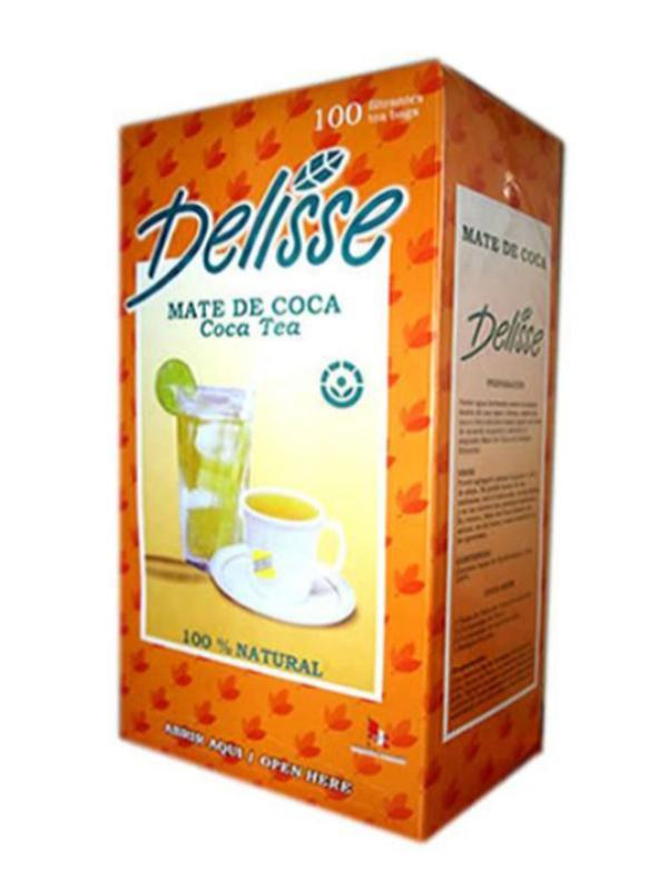 Delisse coca tea box 100 filters